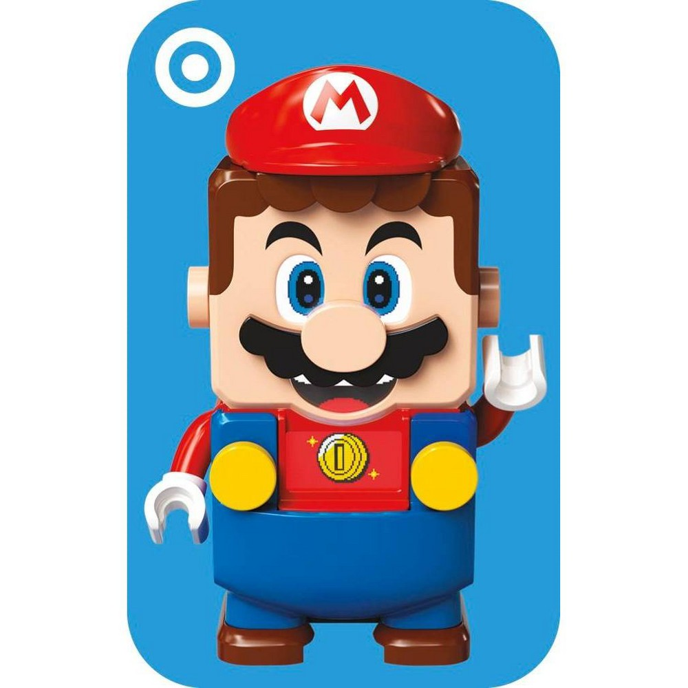 Nintendo Lego Mario Target Giftcard from Target