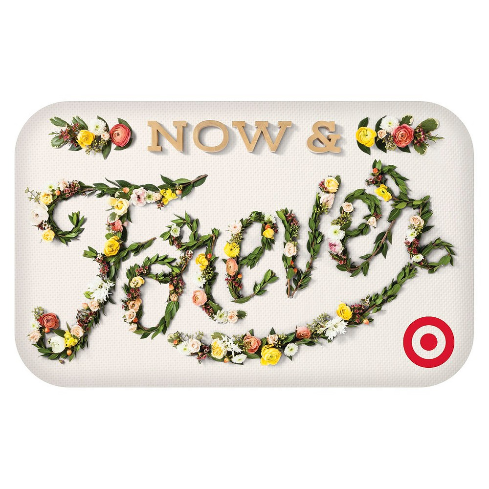 Now and Forever Wedding Target Giftcard from Target