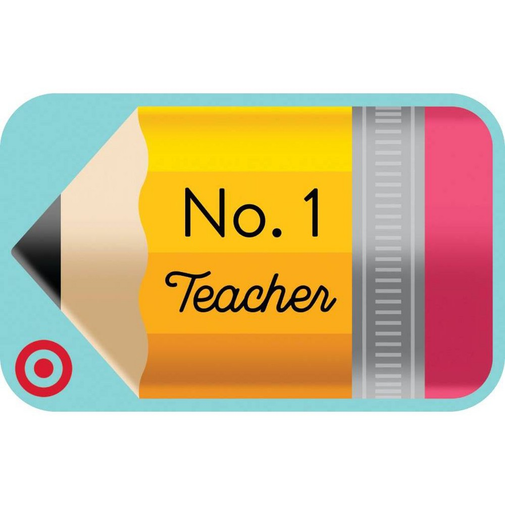 Teacher Pencil (English) Target Giftcard from Target