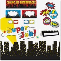 Teacher Created Resources Superhero Decorative Set from Teacher Created Resources