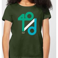 40 / d Match Point Women's T-Shirt - Forest Green - S - Forest Green from The Tennis Collection