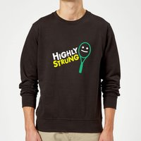 Highly Strung Sweatshirt - Black - M - Black from The Tennis Collection