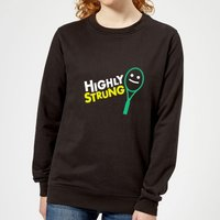 Highly Strung Women's Sweatshirt - Black - M - Black from The Tennis Collection
