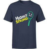 Highly Strung T-Shirt - Navy - S - Navy from The Tennis Collection