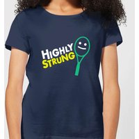 Highly Strung Women's T-Shirt - Navy - XXL - Navy from The Tennis Collection