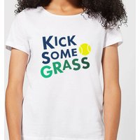 Kick Some Grass Women's T-Shirt - White - XL - White from The Tennis Collection
