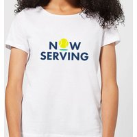 Now Serving Women's T-Shirt - White - M - White from The Tennis Collection