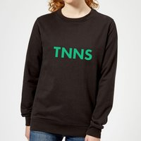Tnns Women's Sweatshirt - Black - L - Black from The Tennis Collection