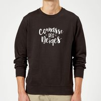 Connasse Des Neiges Sweatshirt - Black - 5XL - Black from The Christmas Collection