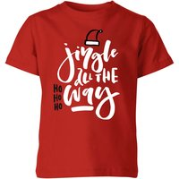 Jingle Kids' T-Shirt - Red - 7-8 Years - Red from The Christmas Collection