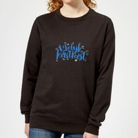 Kerstfeest Women's Sweatshirt - Black - L - Black from The Christmas Collection