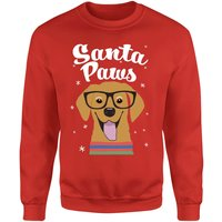 Santa Paws Red Sweatshirt - M - Red from The Christmas Collection