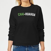 Chai-huahua Women's Sweatshirt - Black - XS - Black from The Coffee Collection