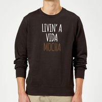 Livin' a Vida Mocha Sweatshirt - Black - XXL - Black from The Coffee Collection