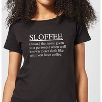 Sloffee Women's T-Shirt - Black - M - Black from The Coffee Collection