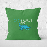 Babysaurus Rex Square Cushion - 60x60cm - Soft Touch from The Dinosaur Collection