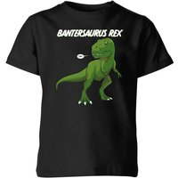 Bantersaurus Rex Kids' T-Shirt - Black - 11-12 Years - Black from The Dinosaur Collection