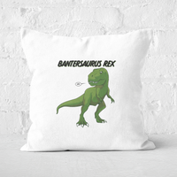 Bantersaurus Rex Square Cushion - 60x60cm - Soft Touch from The Dinosaur Collection