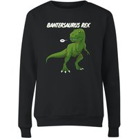 Bantersaurus Rex Women's Sweatshirt - Black - M - Black from The Dinosaur Collection