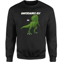 Bantersaurus Sweatshirt - Black - 5XL - Black from The Dinosaur Collection