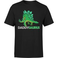 Daddysaurus Men's T-Shirt - Black - M - Black from The Dinosaur Collection