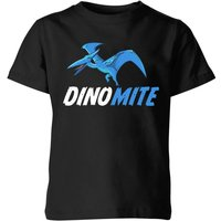 Dino Mite Kids' T-Shirt - Black - 7-8 Years - Black from The Dinosaur Collection
