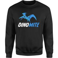 Dino Mite Sweatshirt - Black - 5XL - Black from The Dinosaur Collection