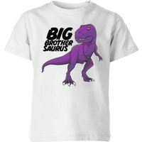 Im A Big Brothersaurus Kids' T-Shirt - White - 7-8 Years - White from The Dinosaur Collection