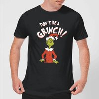 The Grinch Dont Be A Grinch Men's Christmas T-Shirt - Black - M - Black from The Grinch