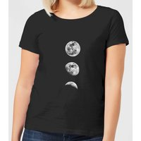 The Motivated Type 3 Moon Series Women's T-Shirt - Black - S - Black from The Motivated Type