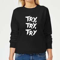 The Motivated Type Motivated Type.ai -18 Women's Sweatshirt - Black - XXL - Black from The Motivated Type