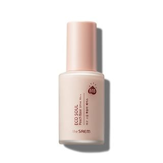 The Saem - Eco Soul Peach Base SPF44 PA++ 25ml from The Saem