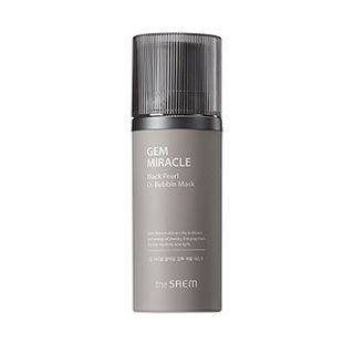 The Saem - Gem Miracle Black Pearl O2 Bubble Mask 105g from The Saem