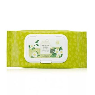 The Saem - Healing Tea Garden Green Tea Cleansing Tissue 60pcs from The Saem