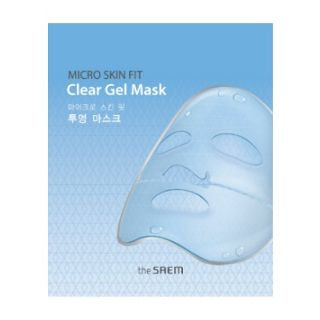 The Saem - Micro Skin Fit Clear Gel Mask 1pc from The Saem