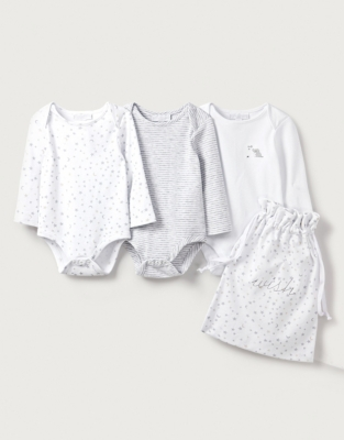 Bodysuit Gift Pack - Set of 3 from The White Company