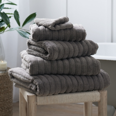 Rib Hydrocotton Towels from The White Company