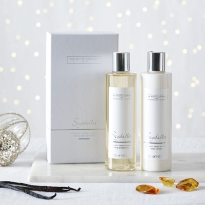 Seychelles Bath & Body Gift Set from The White Company
