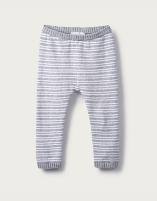 Stripe Knitted Leggings from The White Company