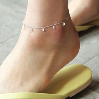 Rhinestone Anklet from Ticoo