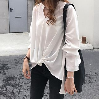 V-Neck Blouse from Tiny Times