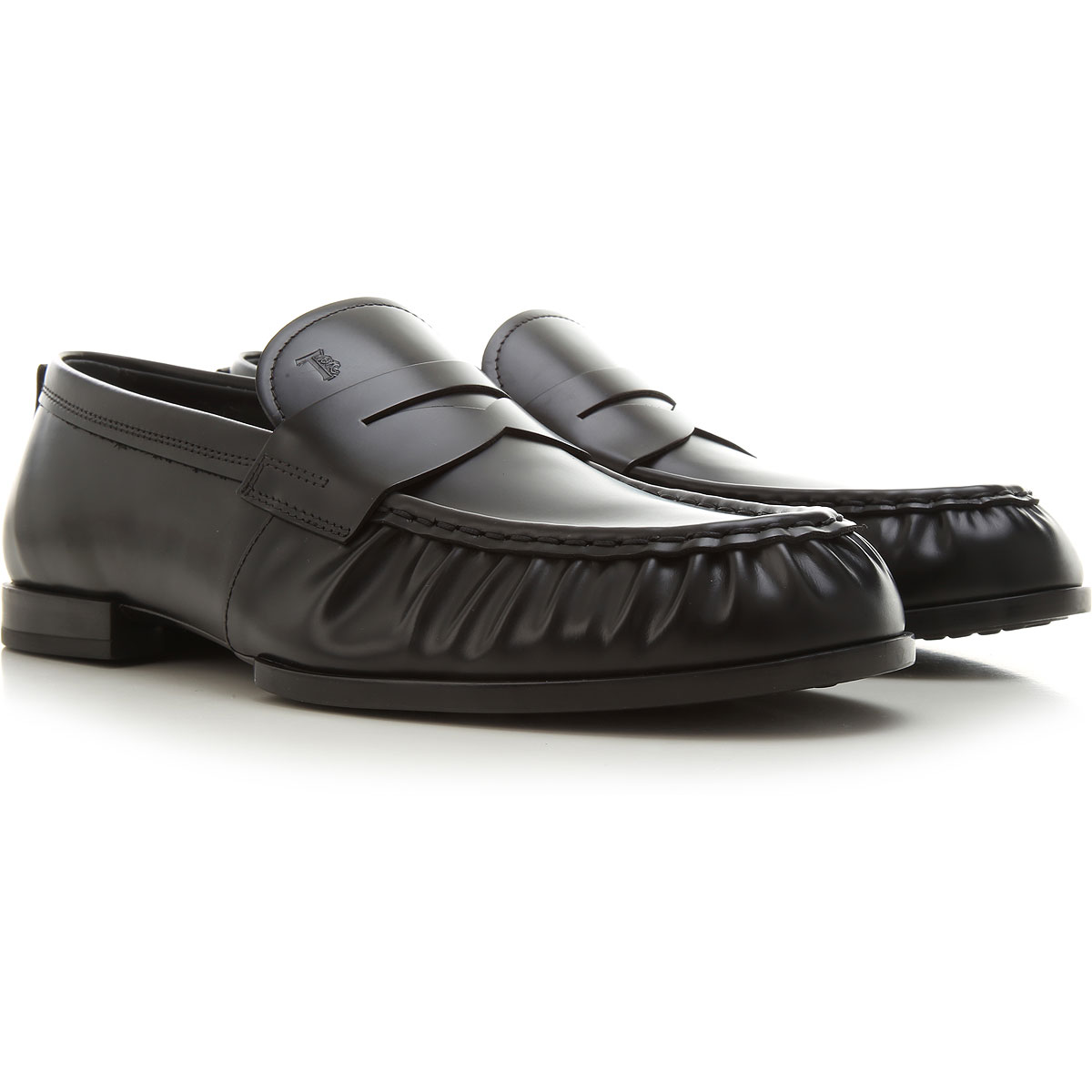 Tods Loafers for Men, Black, Leather, 2021, 10 10.5 11 12 13 6 6.5 7 7.5 8 8.5 9 9.5 from Tods