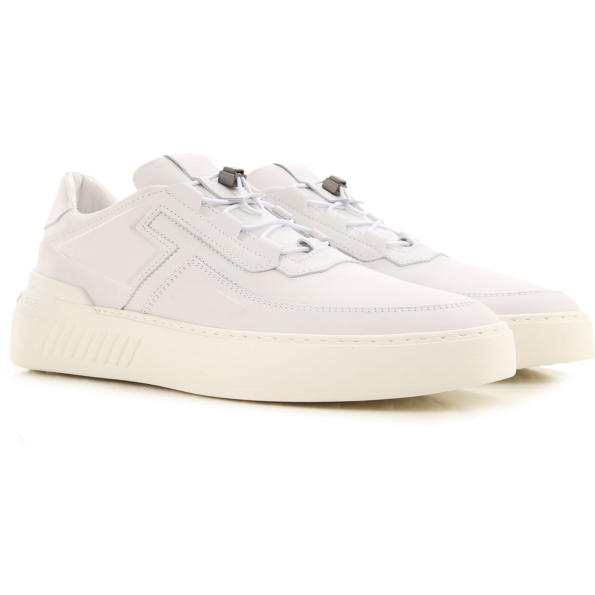 Tods Sneakers for Men, White, Leather, 2021, 10 10.5 7 8.5 from Tods