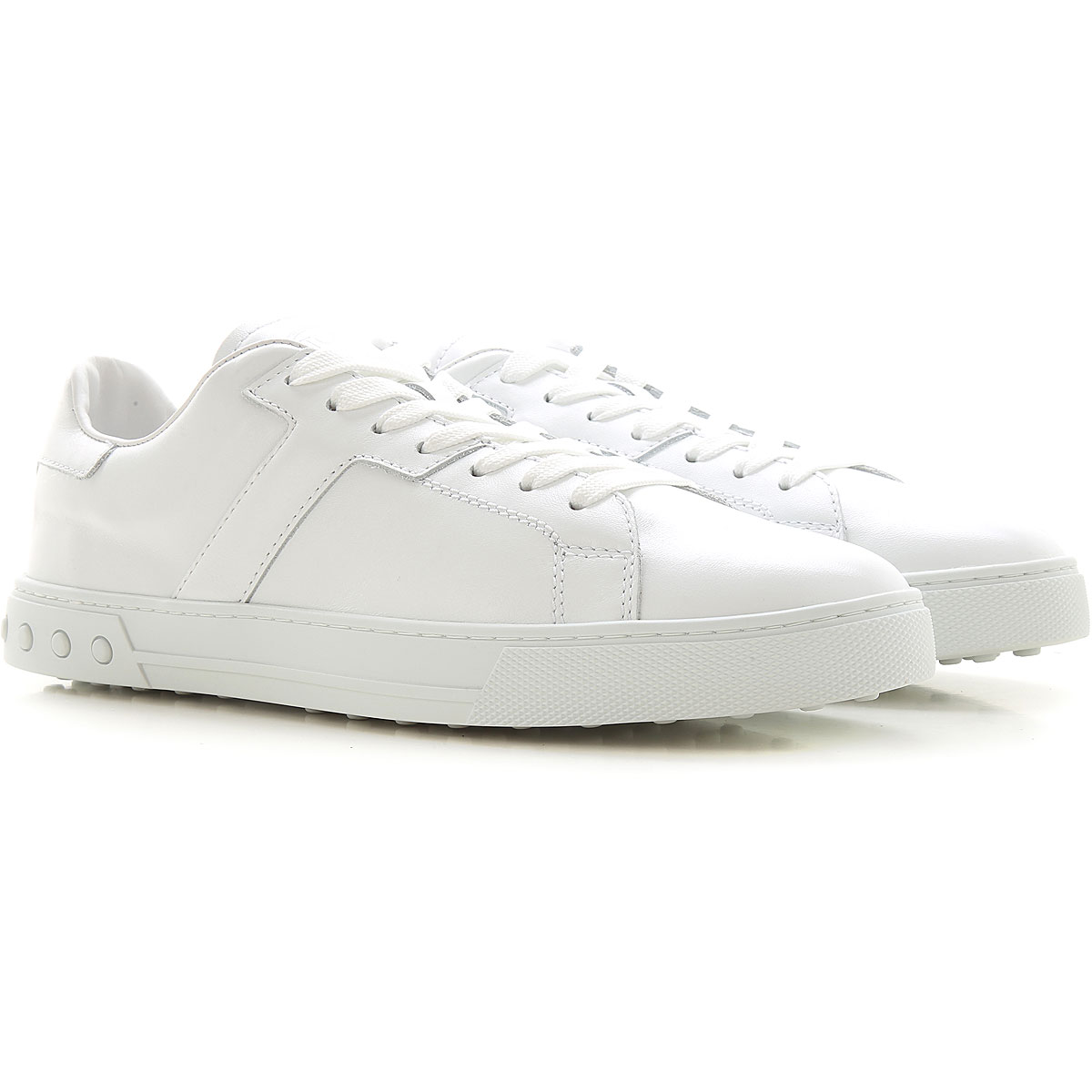 Tods Sneakers for Men, White, Leather, 2021, 10 10.5 11 12 6 6.5 7 7.5 8 8.5 9 9.5 from Tods