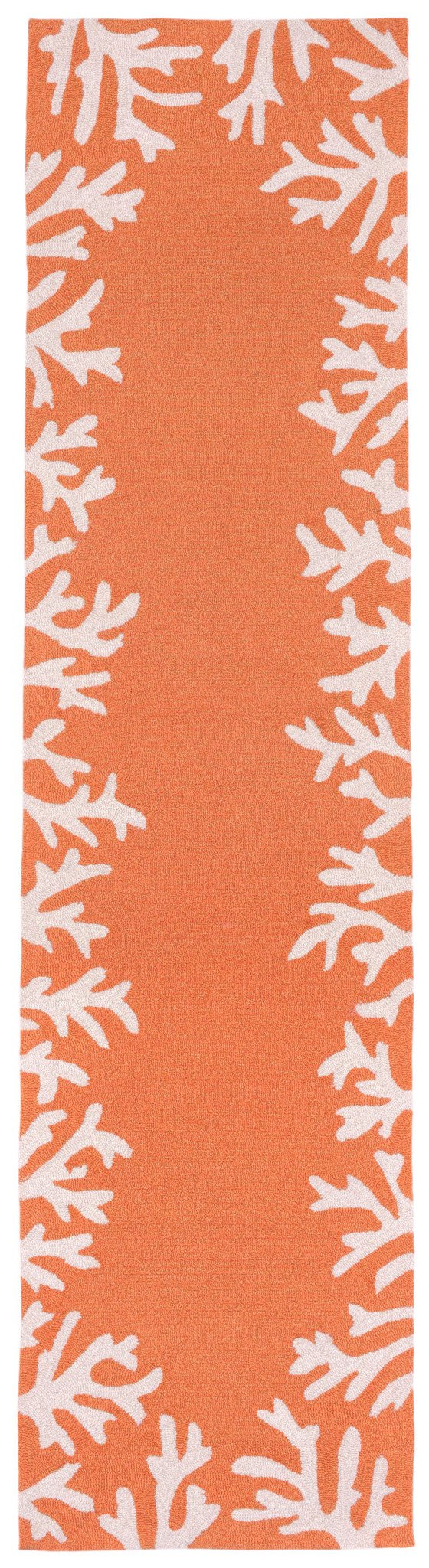 Trans-Ocean Imports CAPR8162017 Capri Collection Orange Finish Everywear Rug from Trans-Ocean