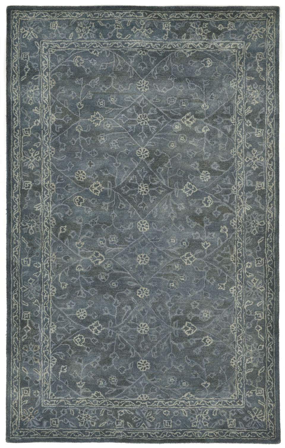 Trans-Ocean Imports GOA58826203 Goa Collection Blue Finish Indoor Rug from Trans-Ocean