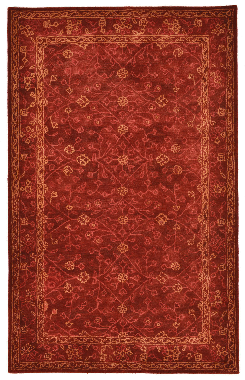 Trans-Ocean Imports GOA58826224 Goa Collection Red Finish Indoor Rug from Trans-Ocean