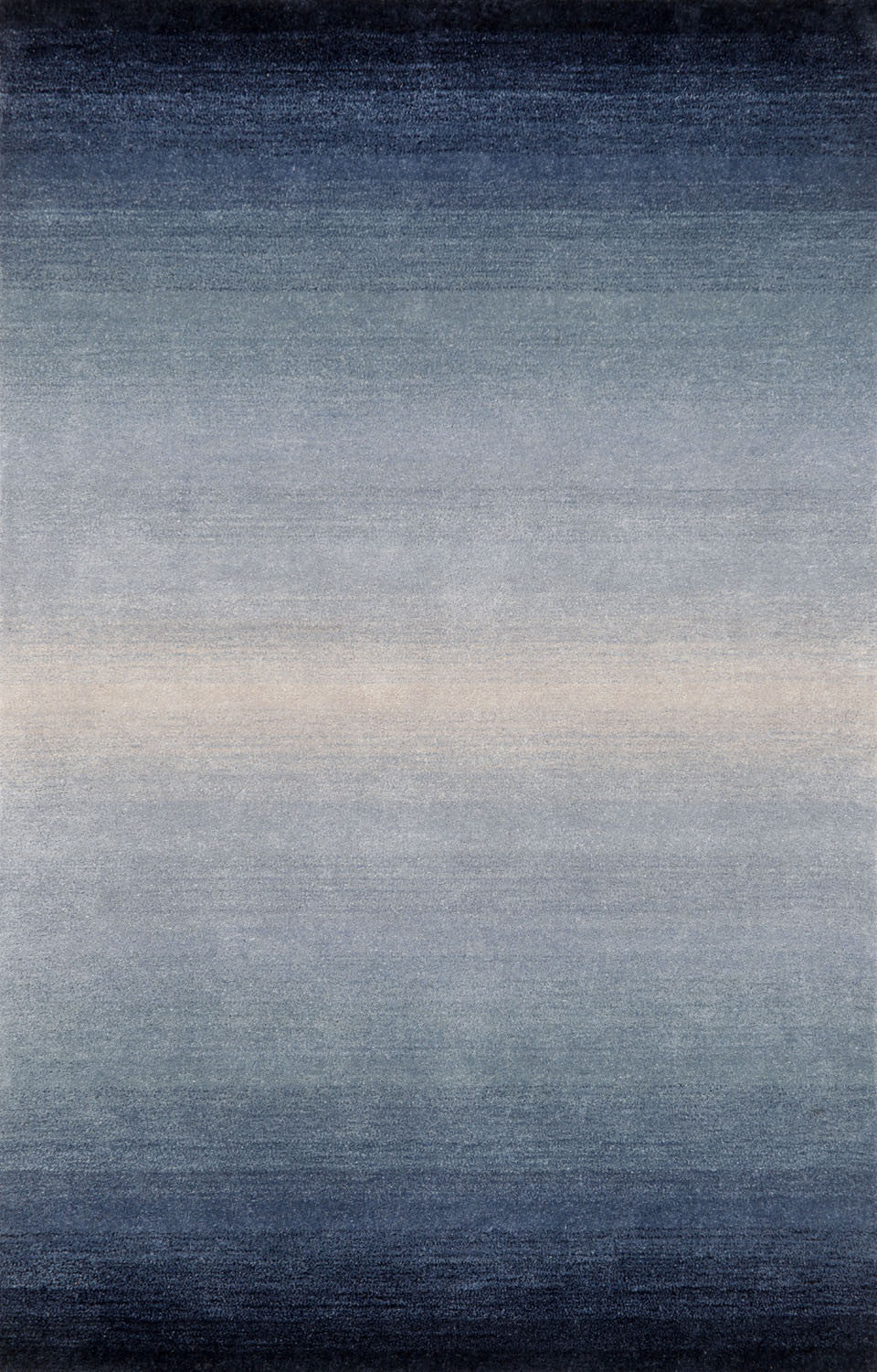 Trans-Ocean Imports OMB92966303 Ombre Collection Blue Finish Indoor Rug from Trans-Ocean