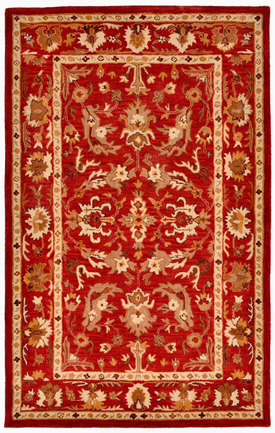 Trans-Ocean Imports PTA23907724 Petra Collection Red Finish Indoor Rug from Trans-Ocean