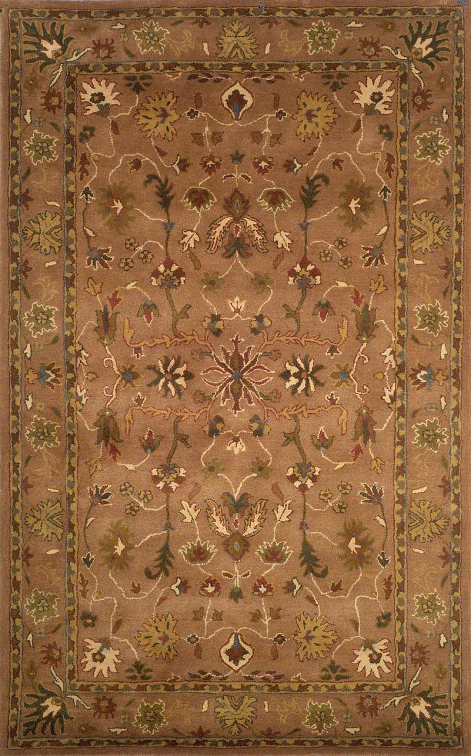Trans-Ocean Imports PTA80906219 Petra Collection Brown Finish Indoor Rug from Trans-Ocean